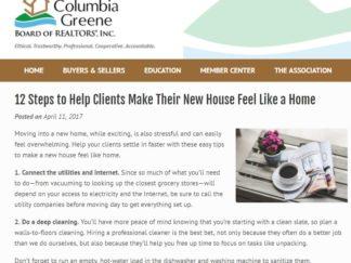 Robin Catalano real estate copywriter content expert albany ny