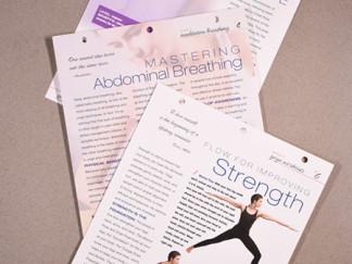 Robin Catalano freelance writer editor copywriter informational yoga cards