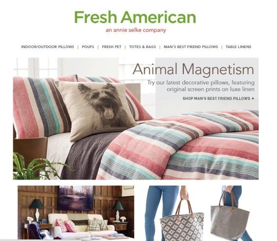 Robin Catalano freelance e commerce writer website writing homepage