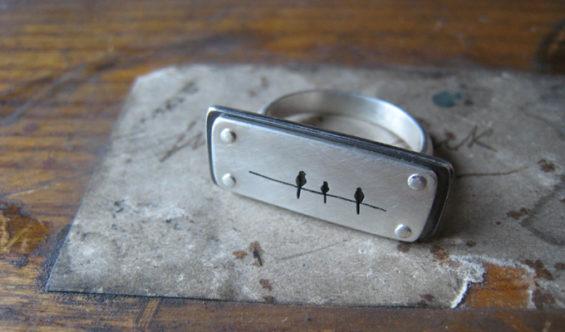 Robin Catalano freelance blogger Berkshires Albany CE Golden jewelry ring