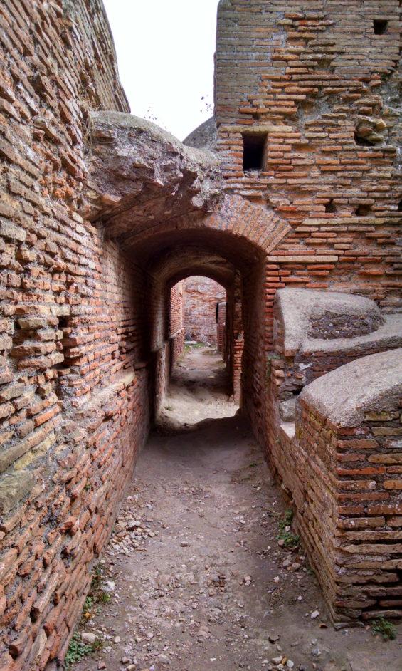 Robin Catalano blogger Berkshires MA ostia antica ruins